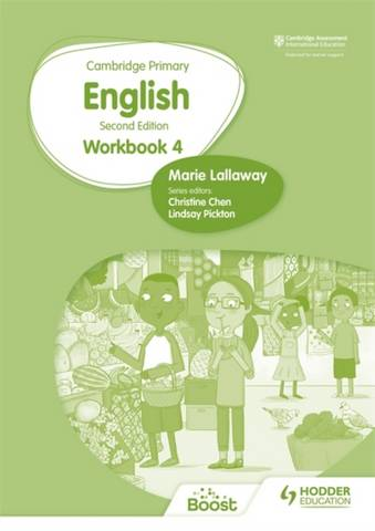 Cambridge Primary English Workbook 4 Second Edition - Marie Lallaway - 9781398300323
