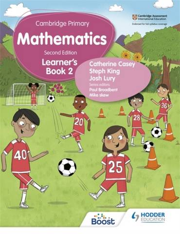 Cambridge Primary Mathematics Learner's Book 2 Second Edition - Catherine Casey - 9781398300941