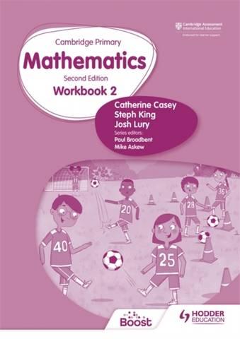 Cambridge Primary Mathematics Workbook 2 Second Edition - Catherine Casey - 9781398301177