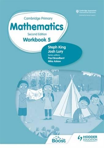 Cambridge Primary Mathematics Workbook 5 Second Edition - Josh Lury - 9781398301221