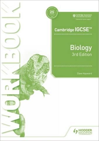 Cambridge IGCSE (TM) Biology Workbook 3rd Edition - Dave Hayward - 9781398310490