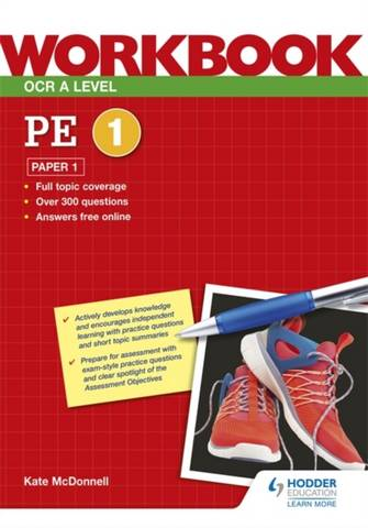 OCR A Level PE Workbook: Paper 1 - Kate McDonnell - 9781398312654