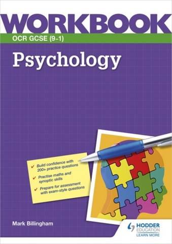 OCR GCSE (9-1) Psychology Workbook - Mark Billingham - 9781398316980