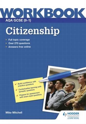 AQA GCSE (9-1) Citizenship Workbook - Mike Mitchell - 9781398317208