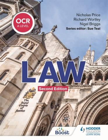 OCR A Level Law Second Edition - Richard Wortley - 9781398326477