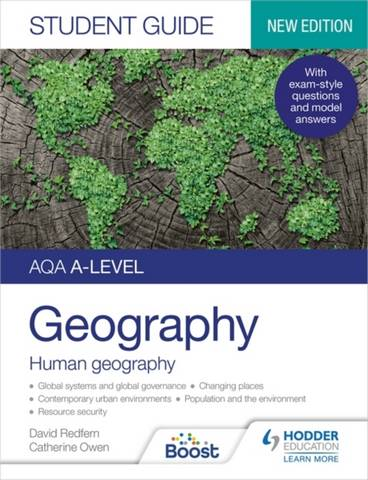 AQA A-level Geography Student Guide 2: Human Geography - David Redfern - 9781398328198