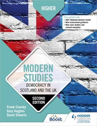 Higher Modern Studies: Democracy in Scotland and the UK: Second Edition - Frank Cooney - 9781510457782