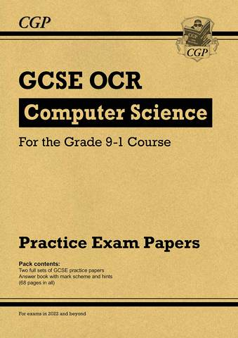 New GCSE Computer Science OCR Practice Papers - for exams in 2022 and beyond - CGP Books - 9781789085617