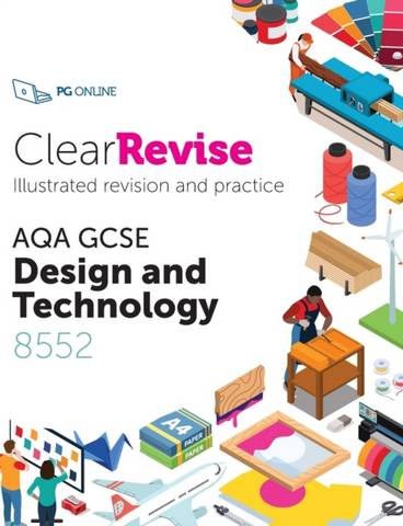ClearRevise AQA GCSE Design and Technology 8552: 2020 -  - 9781910523247