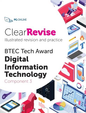 ClearRevise BTEC Digital Information Technology Level 1/2 Component 3 -  - 9781910523261